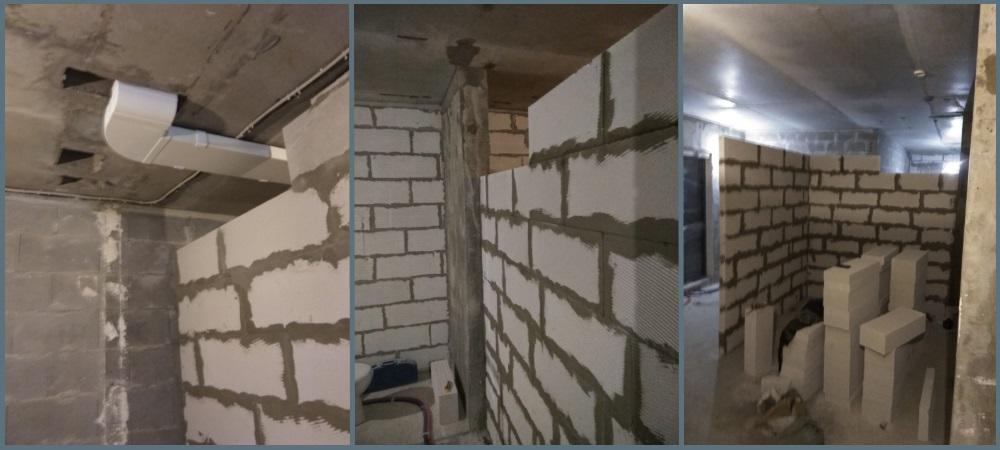 Строительство стен и перегородок